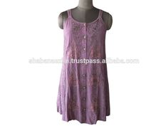 Check out this product on Alibaba.com App:Vintage Rayon Embroidered Tunics Kurti Designer Tops spaghetti straps tube dress https://m.alibaba.com/7Z32ie