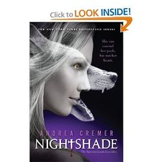 Book 1 in the Nightshade Series by Andrea Cremer-This entire series is #7 on my top 12 books of 2011. 3rd book out on January 3rd and I can't wait!!
