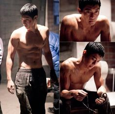 """Kim Hyun Joong Is Rugged With Cut Abs in """"Age of Feeling"""" Stills - Soompi"""