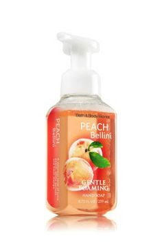 How Peachy: Bath & Body Works Peach Bellini Gentle Foaming Hand Soap