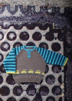 Knitting For Kids, Baby Knitting, Crochet Baby, Knit Crochet, Baby Barn, Knit Baby Sweaters, Baby Knits, Baby Wearing, Lana