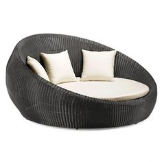 Zuo Anjuna Outdoor Bed   Contemporary   Outdoor Chaise Lounges   Lamps Plus