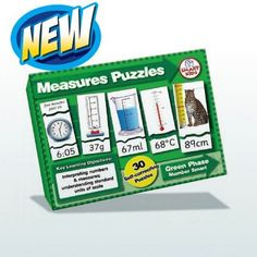 Measurement puzzles for KS1 maths activities