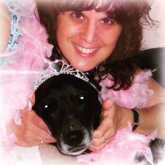 Thank you for tagging me @dukeoflongisland to share a photo of the human & the dog. This is my rescue lab/pit/whatever Sophie. I had her for 13 great years til I lost her to cancer (about 2 years ago). Yes I still miss her a lot some days. She was very tolerant of me as you see  -----------But while I'm here I'll also share what @hairfetti_on_etsy tagged me for which is to share info about the lady behind the camera. For those who have followed me a long time sorry!  But I'll try to share…