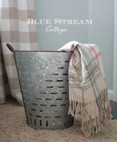 Use code PIN10 for 10% off olive buckets at Blue Stream Cottage