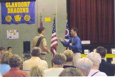 Eagle Scout ceremonies in         Glandorf.