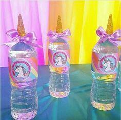 Idea para fiesta de unicornio.