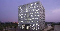 Sako Architects' Cube Tube is Futuristically Minimalist #design trendhunter.com