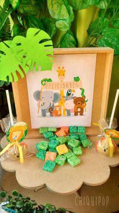 Animalitos de la jungla Birthday Party Ideas | Photo 1 of 11