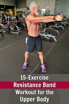 Click-through to see a resistance band workout that will help sculpt, firm, and define your torso. Resistance Band Training, Resistance Workout, Resistance Band Exercises, Strength Training, Fit Board Workouts, Gym Workouts, Band Workouts, Exercise Bands, Rowing Workout