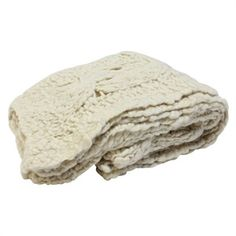 Cream Chunky Knit Throws