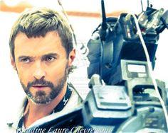 Chappie Cinema Hugh Jackman Nadinelaure-2 by NLCARTS.deviantart.com on @DeviantArt