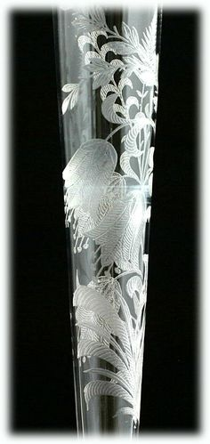 Antique Etched Cut Crystal Flower Pattern by donnaclassey ...