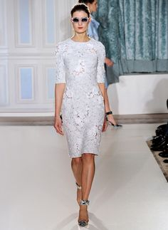 Erdem Spring 2012. Someone should get married in a park in this.