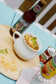 Hands down, the BEST chili recipe ever. It's full of flavor, layers of heat- and most importantly- good beer! You have to try this recipe.