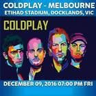 #Ticket  COLDPLAY Tickets Melbourne Arena 3 Floor Standing Etihad Stadium 9th December #Australia