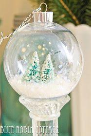 Christmas Bulbs by Sierra from Blue Robin Cottage - cute craft idea