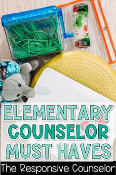 Back to school time is just around the corner, and I wanted to share some of my must-haves for elementary school counselors! This post includes everything from tools that keep me organized to student resources and items I love to use for my guidance lessons! Read the post now to get these helpful school counselor ideas! School Counselor Organization, School Counselor Lessons, School Counselor Office, Elementary School Counselor, School Social Work, School Counseling, Elementary Schools, Guidance Lessons, Green Sofa