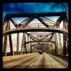 crossing the ohio river.