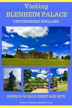Planning a visit to Blenheim Palace - a UNESCO World Heritage site near Oxford in England. Lots to see and do at Blenheim Palace - beautiful gardens and home to explore.