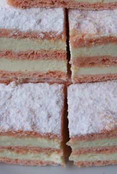 Prajitura cu gris si bulion de post Romanian Food, Vanilla Cake, Biscuits, Food And Drink, Gluten, Sweet, Desserts, Sweets, Romanian Recipes