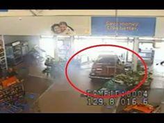 CCTV: Drunk Driver Smashes into Walmart | San Jose police release shocking Walmart crash