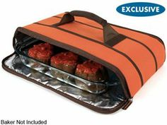 Rachael Ray 9x13-in. Stow-A-Way Collapsible Carrier: Orange at Rachael Ray Store