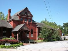 Baldwin's Station is a historic railroad station turned eatery (Sykesville, MD)