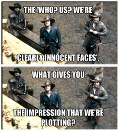 The Musketeers memes - Porthos, Athos & Aramis.