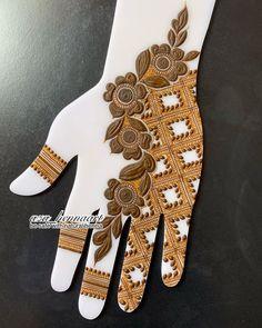 Indian Henna Designs, Floral Henna Designs, Henna Tattoo Designs Simple, Beginner Henna Designs, Latest Bridal Mehndi Designs, Full Hand Mehndi Designs, Mehndi Designs Book, Mehndi Designs 2018, Mehndi Designs For Girls