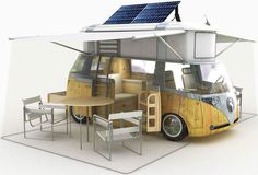 alexandreverdier Eco Retro: VW Westfalia Camper Van Goes Green