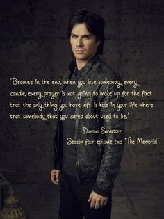 Ian Somerhalder- Damon Salvatore