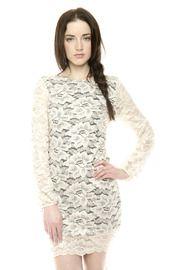 Shoptiques - Flower Lace Dress