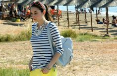 Coming up on #Stylescream wearing ACCESSORIZE GREECE #SS2014 necklaces, shorts & backpack #ourjourney