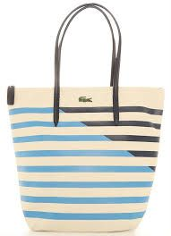 501887e907996f Bolsa Vertical Tote Bag Bege Lacoste - Other Brands