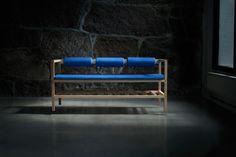 Bench and Blanket   BENKT   by günzler.polmar via Design Milk