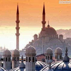 Istanbul. I can't wait to go!