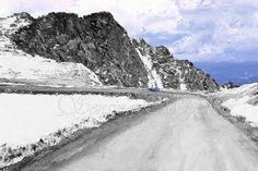 A Colorado Drive Fine Art Print Digital Painting by SensingMajesty, $61.44