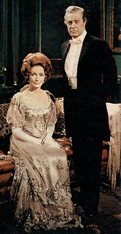 Upstairs, Downstairs: Lady Marjorie and Richard Bellamy. Downton Abbey is but a pale imitation.