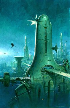 The Art of Les Edwards http://www.lesedwards.com/galleries/science-fiction/103/