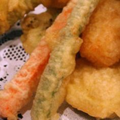 Tempura Batter and Dipping Sauce Recipe Sushi Recipes, Sauce Recipes, Asian Recipes, Vegetarian Recipes, Cooking Recipes, Ethnic Recipes, Asian Foods, Chinese Recipes, Meal Recipes