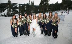 A Lake Tahoe wedding photo taken by Ciprian photography