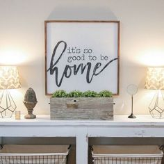 We have had SO MANY questions about the signs we used on our last two episodes of #OpenConcept on @hgtv! We worked with our good friend @vineandbranchestx to design this sign for the Davis family that totally speaks to our ❤️! Go check her out! She's amazingly talented and we are proud to call her a friend. We also put a direct link to her Etsy shop where she is selling these in multiple sizes! ❤️ #shanty2chic #hgtv #OpenConcept