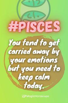 🔮 Read your #Horoscope prediction for this week 🔮 #Horoscope #Horoscopes #Prediction #HoroscopePrediction #MagicHoroscope #Zodiac #Astrology #ZodiacSigns #Aries #Taurus #Gemini #Cancer #Leo #Virgo #Libra #Scorpio #Sagittarius #Capricorn #Aquarius #Pisces Pisces Zodiac, Sagittarius, Horoscope, Zodiac Signs, All About Pisces, Constellations, Cancer, Reading, Zodiac Signs Pisces