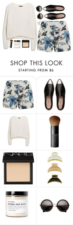 """""""Cloud Dancing"""" by vogue-breakfast ❤ liked on Polyvore featuring ONLY, Miu Miu, MANGO, NARS Cosmetics, Fig+Yarrow, women's clothing, women, female, woman and misses"""