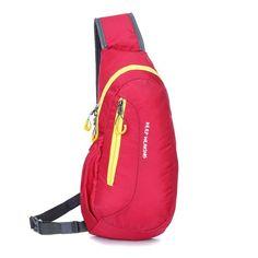 Brand New Unisex Waterproof Nylon Chest Bag Men Women Running Shoulder Bag Diagonal Outdoor Sports Bag sacs de course