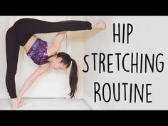 Flexibility Stretches For Dancers, Cheerleaders, Ballet, Gymnasts & The Splits Beginners Exercises - YouTube
