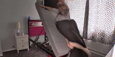 '알람 울리면 내동댕이' 강제 기상 침대 영상 http://i.wik.im/227929