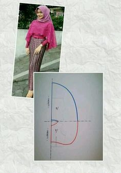 Amazing Sewing Patterns Clone Your Clothes Ideas. Enchanting Sewing Patterns Clone Your Clothes Ideas. Kaftan Pattern, Cape Pattern, Gown Pattern, Dress Sewing Patterns, Clothing Patterns, Fashion Sewing, Diy Fashion, Model Kebaya, Sewing Blouses