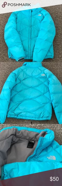 North Face Down Winter Coat Excellent condition.  Large women's North Face winter jacket. The North Face Jackets & Coats Puffers
